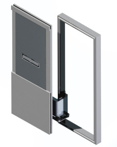 LAZARETTE DOOR - ISO VIEW